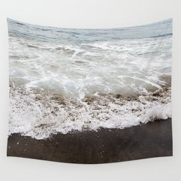 Brown Beach Wall Tapestry