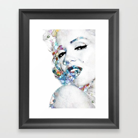 Marilyn Monroe (NOW WITH MORE SIZES) Framed Art Print