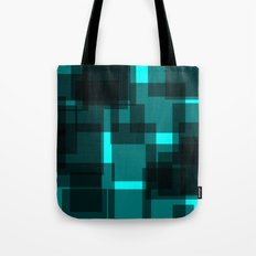 Shady Squares Tote Bag