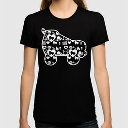 Roller Derby Skate Print T-shirt