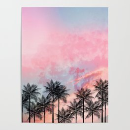 Summer Palm Tree #Society6 #Buyart #Decor Poster