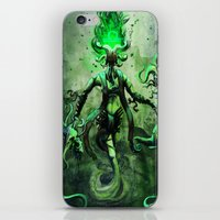libra iPhone & iPod Skins featuring LIBRA by SOMNIVAGRIOUS