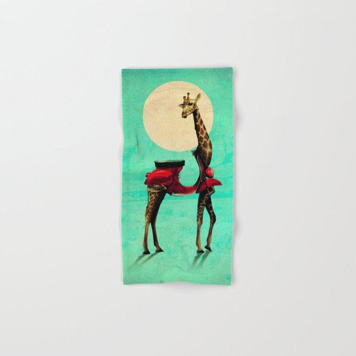 Giraffe Hand & Bath Towel