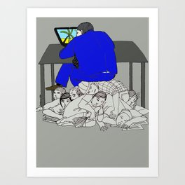 The capitalist Art Print