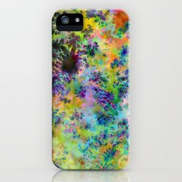 abstract 001: dissolve iPhone Case