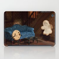 haunted mansion iPad Cases featuring Haunted Cookie Mansion by Cuddles and Rage