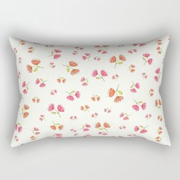 Bell Flowers – Floral Heart Collection Rectangular Pillow