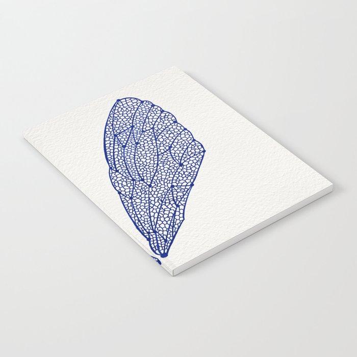 Navy Cicada Wings Notebook
