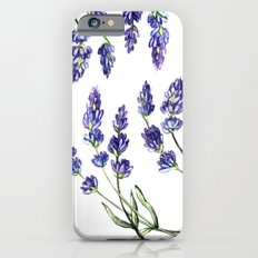 Lavender flowers Slim Case iPhone 6s