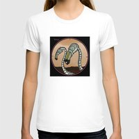 flamingos T-shirts featuring Flamingos by Anand Brai