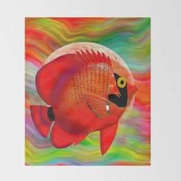 ANGEL FISH Throw Blanket