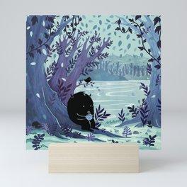 A Quiet Spot of Tea Mini Art Print