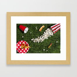 Ant's party Framed Art Print