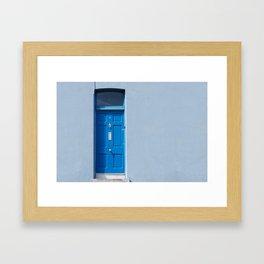 I'm blue (da ba dee da ba di) Framed Art Print