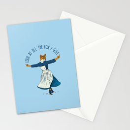 Look At All The Fox I Give - I Stationery Cards