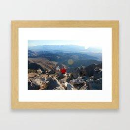 Alone in Joshua Tree Framed Art Print