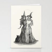 coven Stationery Cards featuring The Witches by Caitlin McCarthy