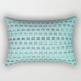 Fifties Weave Rectangular Pillow