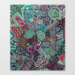Jolly Geometric Canvas Print
