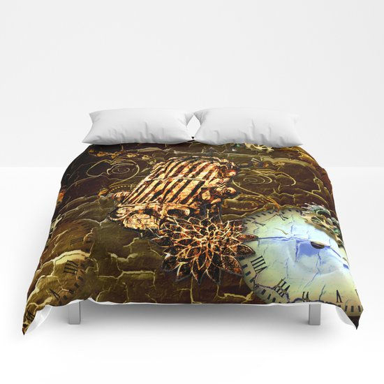 Steampunk, micropphone Comforters
