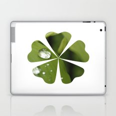Green Leaves After Rain Laptop & iPad Skin