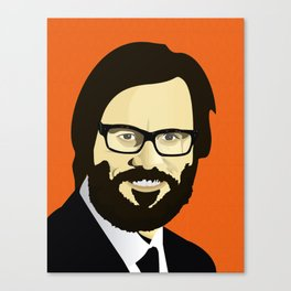 Jim Carrey (JC) Canvas Print