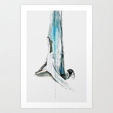 Web - Aerial Dancer Art Print