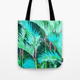 Palm Forest Tote Bag