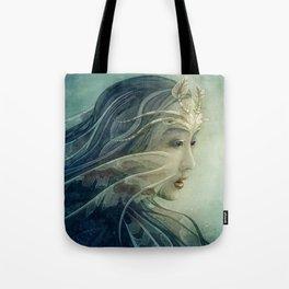 Lionfish mermaid Tote Bag