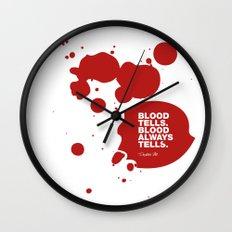 Dexter no.3 Wall Clock