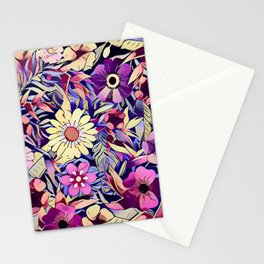 Floral dreams No1 Stationery Cards