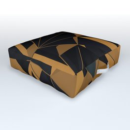 3D Futuristic GEO VI Outdoor Floor Cushion