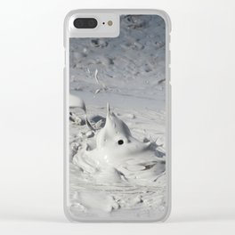 Boiling Mud Clear iPhone Case
