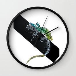 Wriggle Wall Clock