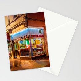 Late Night Espresso Stationery Cards