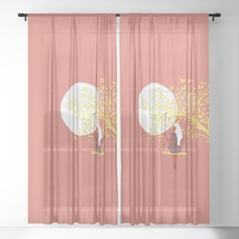 Fancy games Sheer Curtain