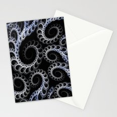 Tentacles Blue Stationery Cards