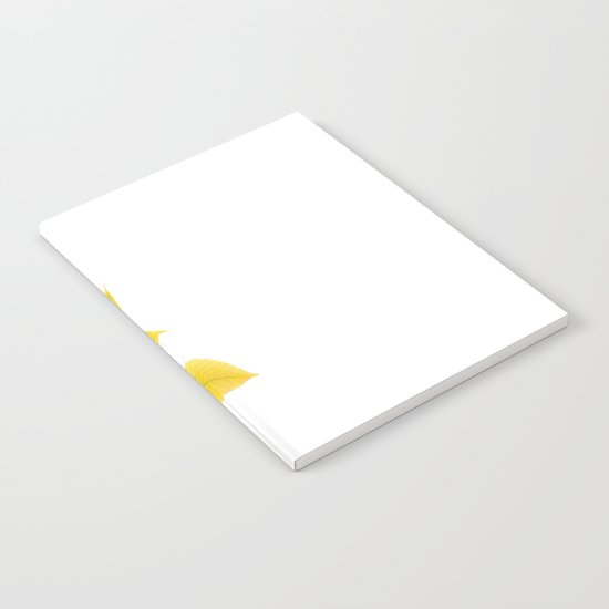 Yellow Leaves Notebook