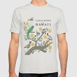 Lanai Birds of Hawaii T-shirt
