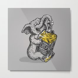Drunk Elephant Metal Print
