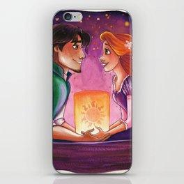Tangled Rapunzel and Flynn iPhone Skin