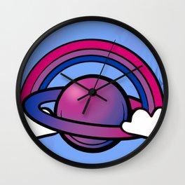 Space Queers: Bi Wall Clock