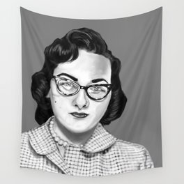 Vintage Photo Booth Babe #2 Wall Tapestry