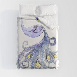 Groovy Peacock Duvet Cover