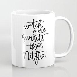 sunsets > Netflix Coffee Mug