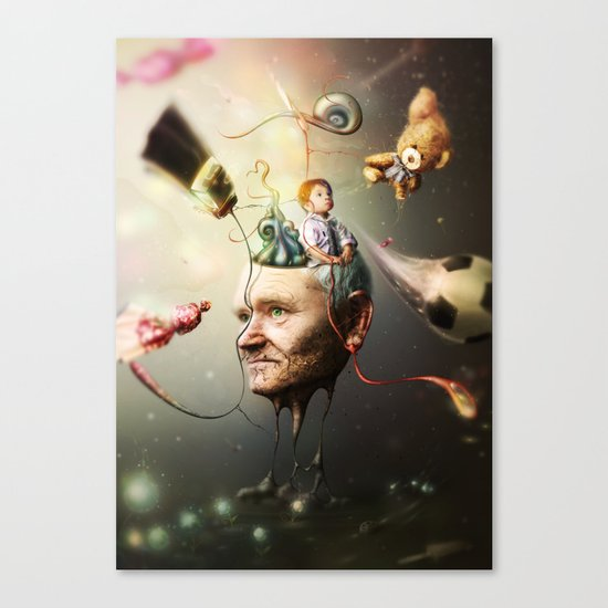 Mental Age Canvas Print