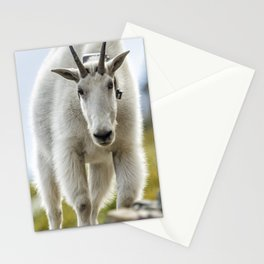 The Ups and Downs of Being a Mountain Goat No. 3 Stationery Cards