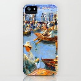 Max Liebermann On the Alster in Hamburg iPhone Case