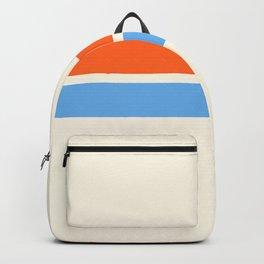2 Stripes Orange Blue Backpack