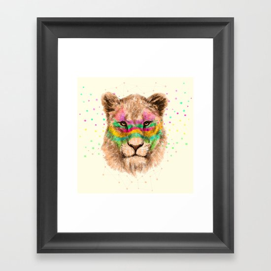 Lioness II Framed Art Print
